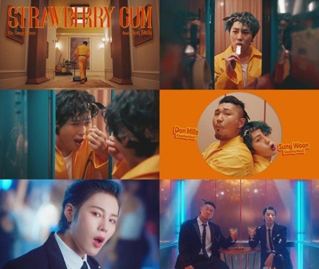 Ha Sung Woon_Don Mills_Strawberry Gum