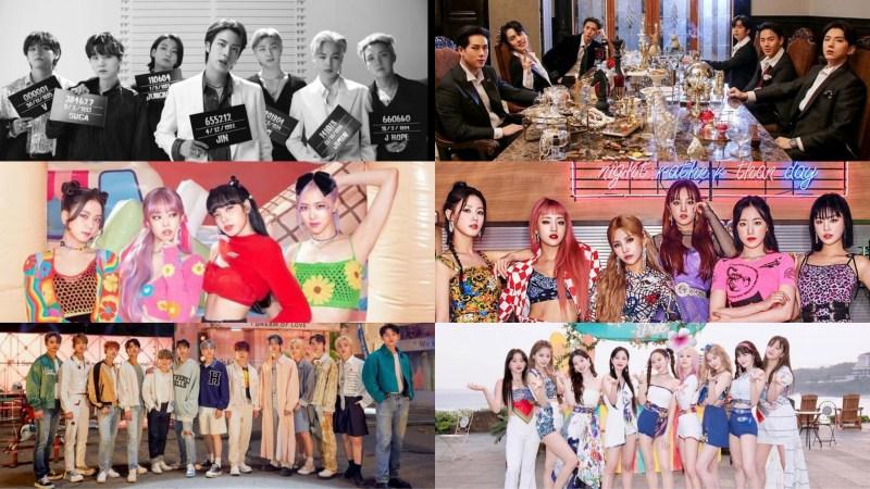 BTS, MONSTA X, BLACKPINK & More Nominated For MTV Video Music Awards