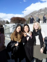 Me & the Korean sisters that look like models