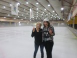 Skating on our P-day
