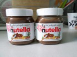You know you have the best investigator when she gives you and your companion NUTELLA as a gift <3