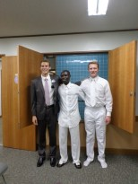 The elder's investigator from Ghana who also got baptized this past weekend
