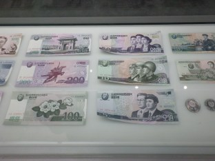 North Korean money