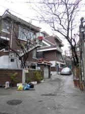 Traditional Korean villa place