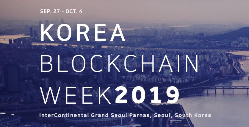 Korea Blockchain Week