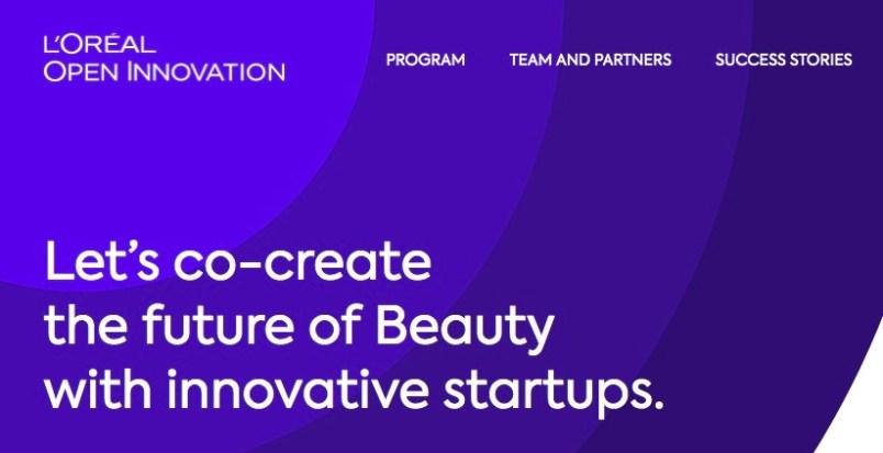 Open Innovation Beauty Tech Startup Accelerators