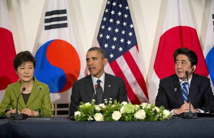 2015 agreement between Korea and Japan