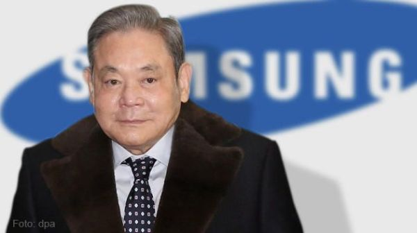 Lee Kun Hee Richest People in South Korea