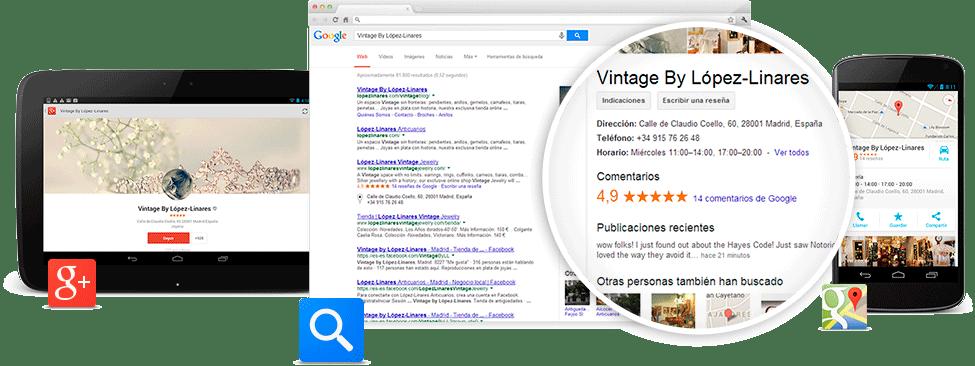 Geolocalización con Google My Business