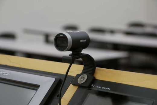 webcam classroom lecture capture system jpg