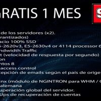 VPS GRATIS 1 mes: WHM CPanel - 400GB SSD 80€/mes