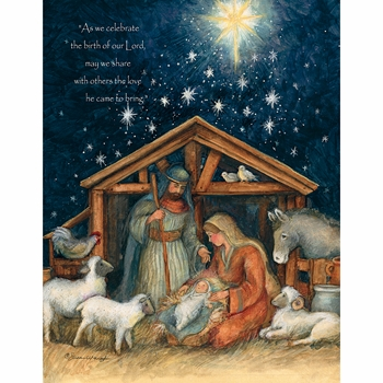 Lang Boxed Religious Christmas Cards Holy Family