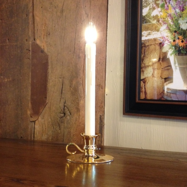 Window Candle Battery Operated Dual Intensity