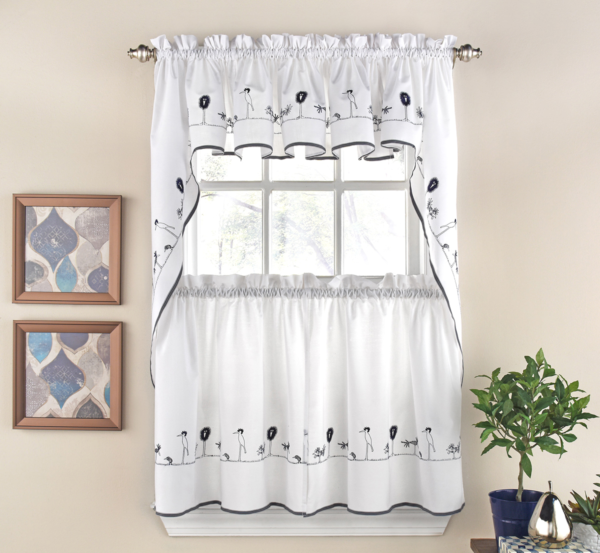 Kitchen Curtain Valances Ideas Kitchen