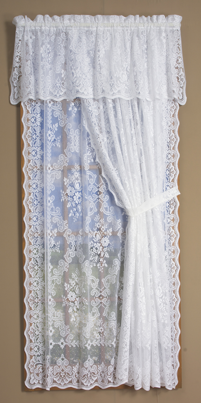 lace curtains traditional and