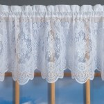 Vanessa Lace Tailored Valance Thecurtainshop Com