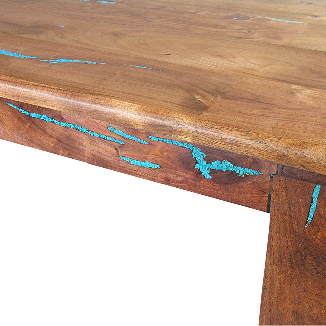 southwest mesquite coffee table with
