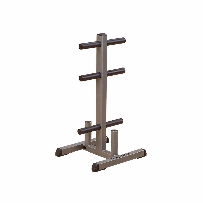 body solid gowt olympic weight tree bar rack