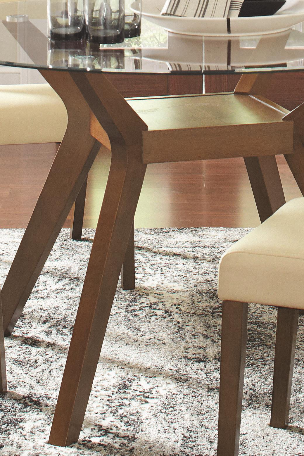 Classic 5 PC Dining Room Table Side Chair Contemporary