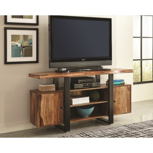 Scott Living TV Stand TV Console 700890 Living Room Accessories DC Furniture Stores