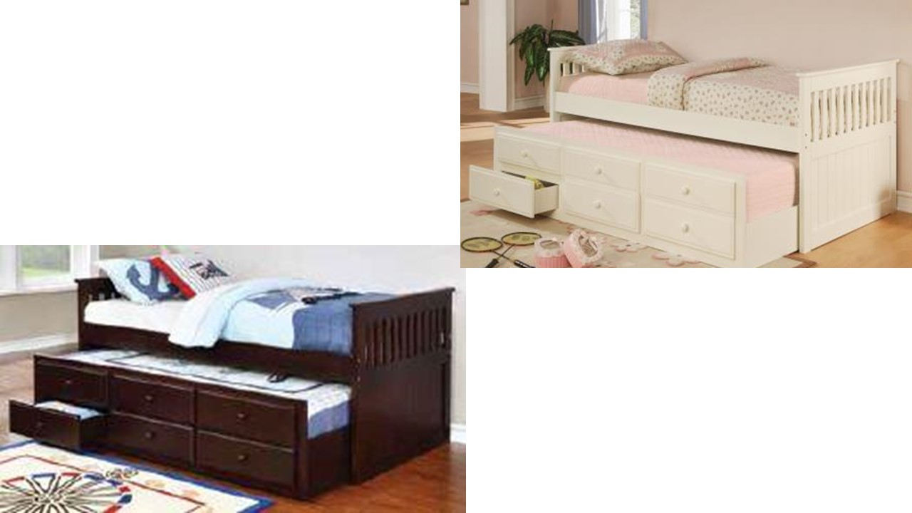 Twin Daybed With Trundle And Storage Virginia Furniture
