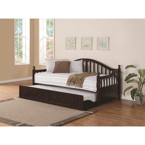 Kids Daybed With Trundle And Storage Children Bedroom Sets Arlington VA Classic Furniture Store
