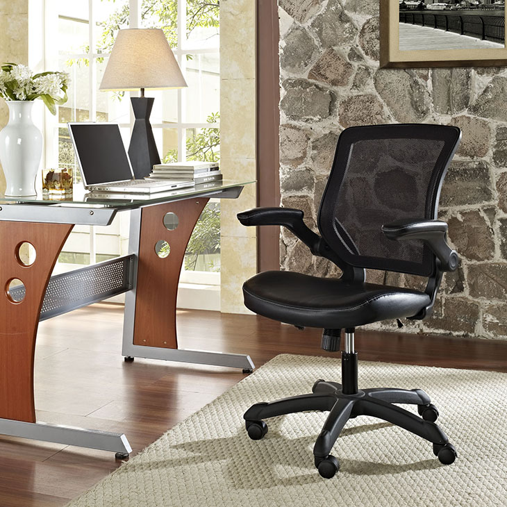 Contemporary Desk Chair Office Furniture Heavy Duty Furniture EEI 291 VA Furniture Stores
