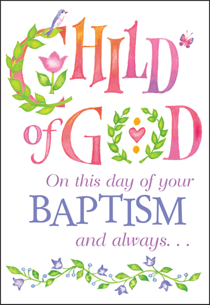 Congratulations On Your Baptism Cards It Takes Two Inc