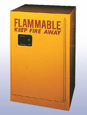 DIVERSIFIED WOODCRAFTS Flammable Storage Cabinet 45 Gallon 32 Wt 295