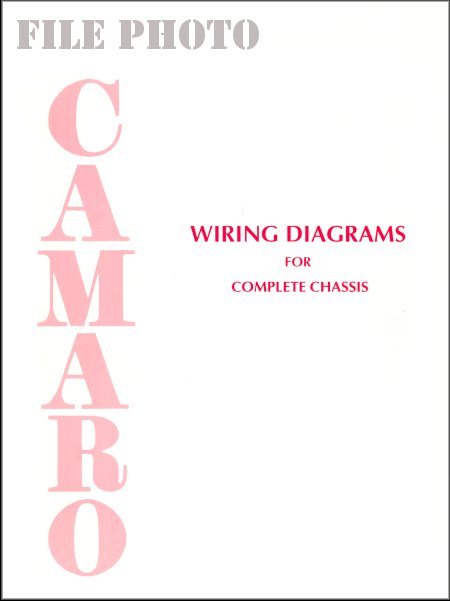 camaro chassis wiring diagrams 19671976