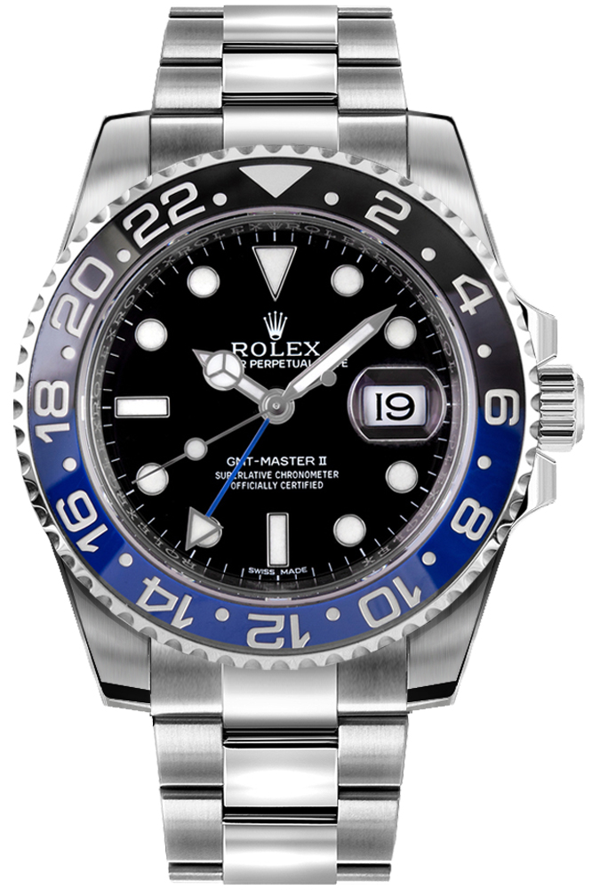 Rolex 116710BLNR GMT Master II Mens Oystersteel Watch