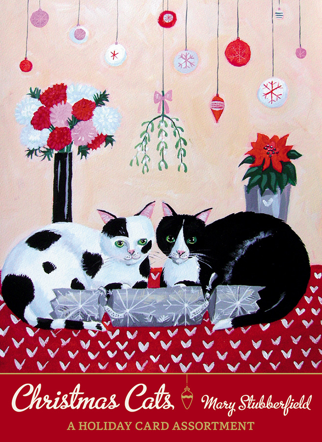 Mary Stubberfield Christmas Cats Holiday Card Assortment