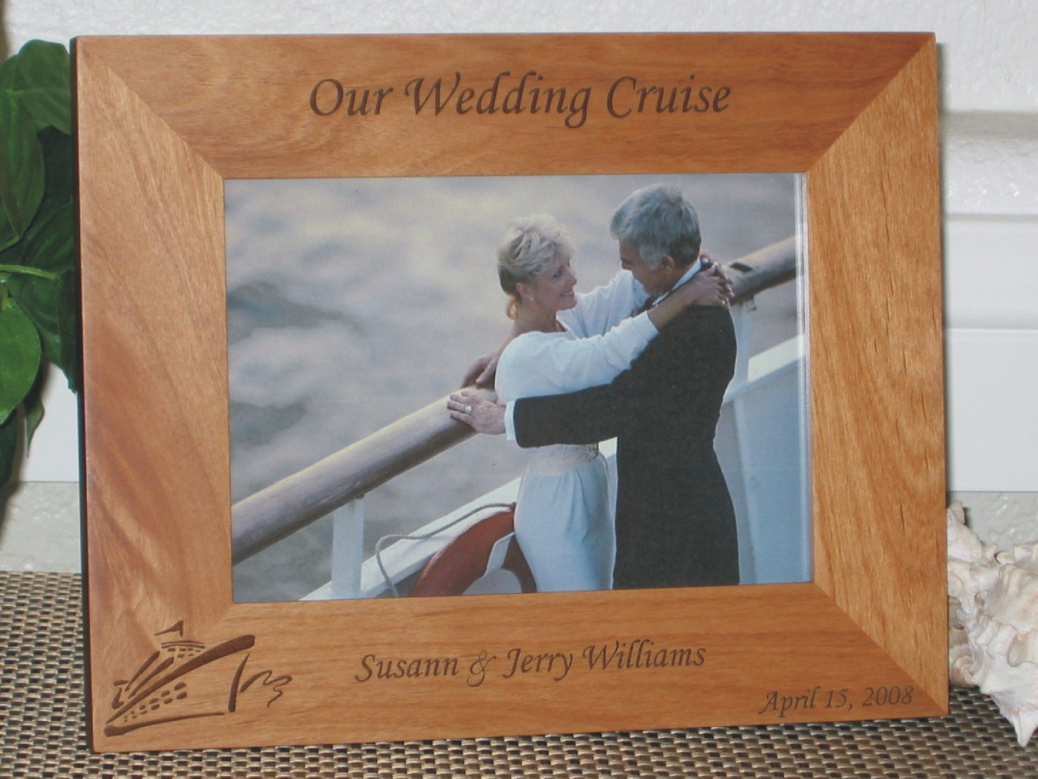 Wedding Cruise Picture Frame