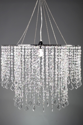 Large Diameter Crystal Chandelier Wide Event Space