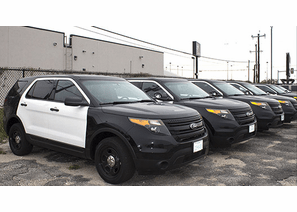 Police cars for sale