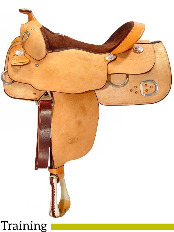 Western Bags Circle Leather Saddle Y