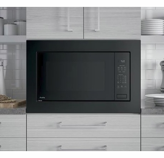 peb7227dlbb ge profile 24 2 2 cu ft built in microwave with control lockout and sensor cook black