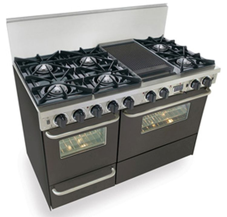 Gas Double Ovens Side Side