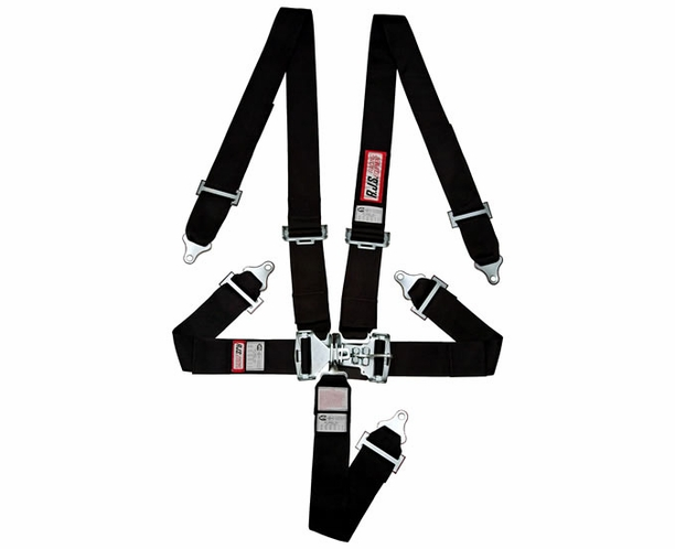 Individual Bolt In Wrap Floor Mount Seat Belts 5 Point