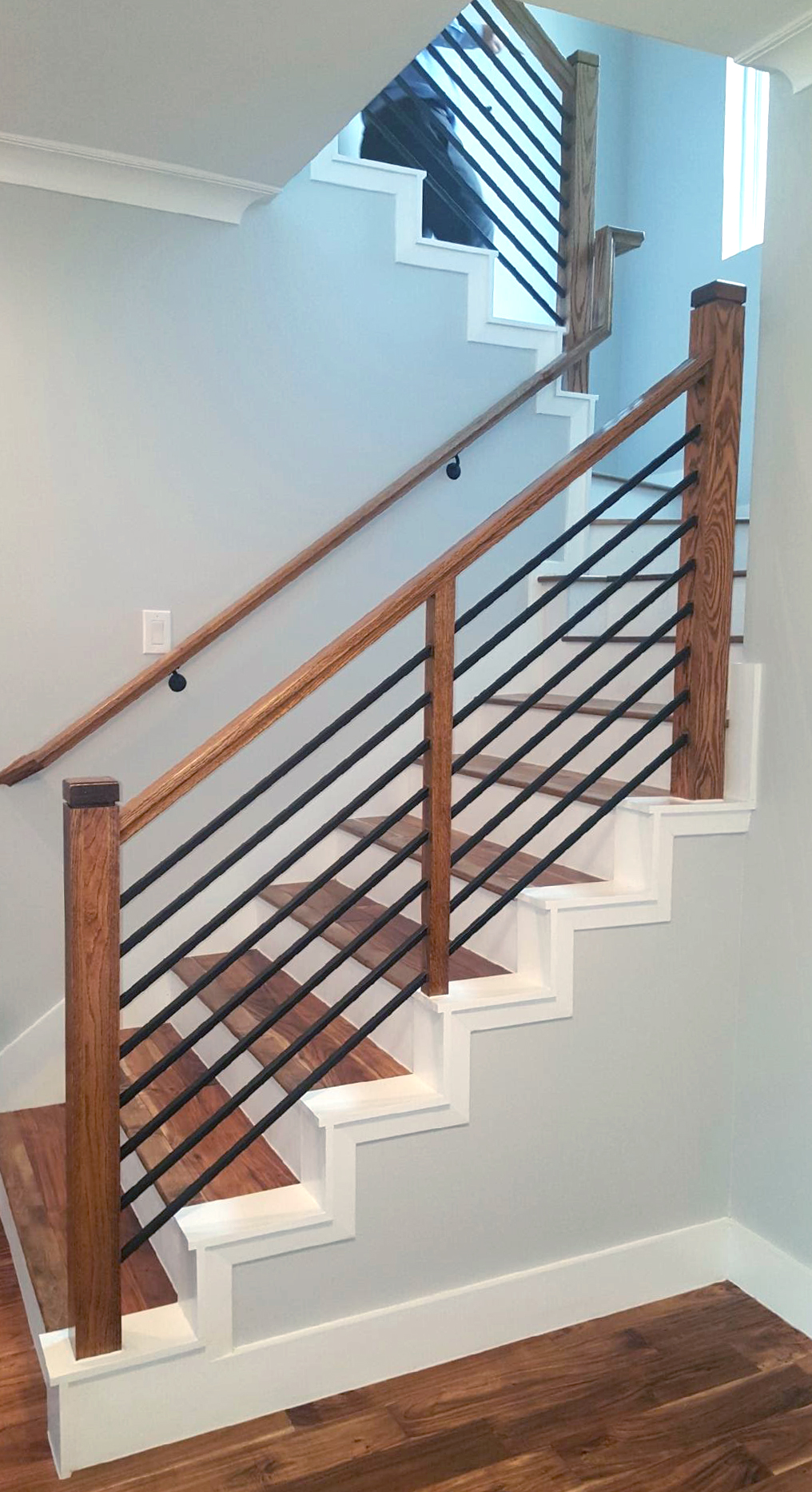 Metal Pickets Stairs