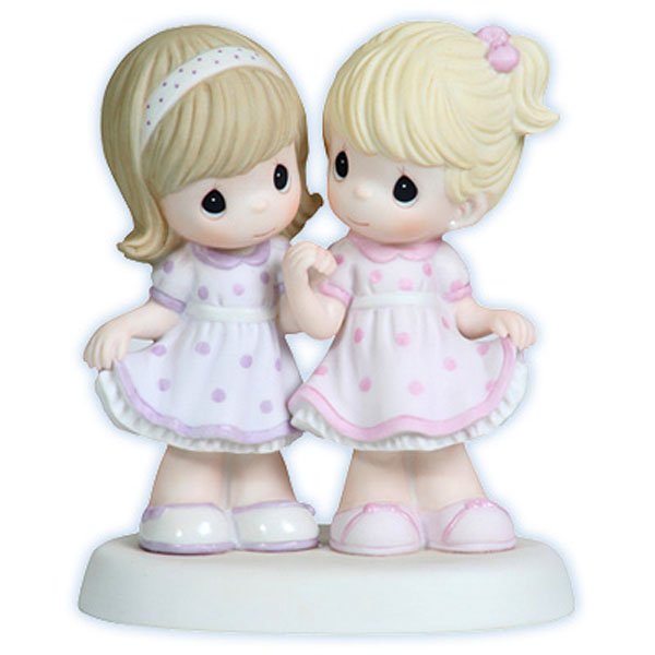 Precious Moments Sister S Share A Special Bond Sisters Dressed Alike 112006