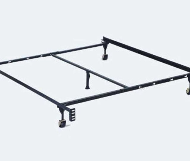 Black Metal Twin Or Full Or Queen Size Metal Bed Frame Steal A Sofa Furniture Outlet Los Angeles Ca
