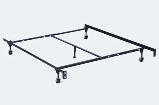 Black Metal Twin Or Full Queen Size Bed Frame
