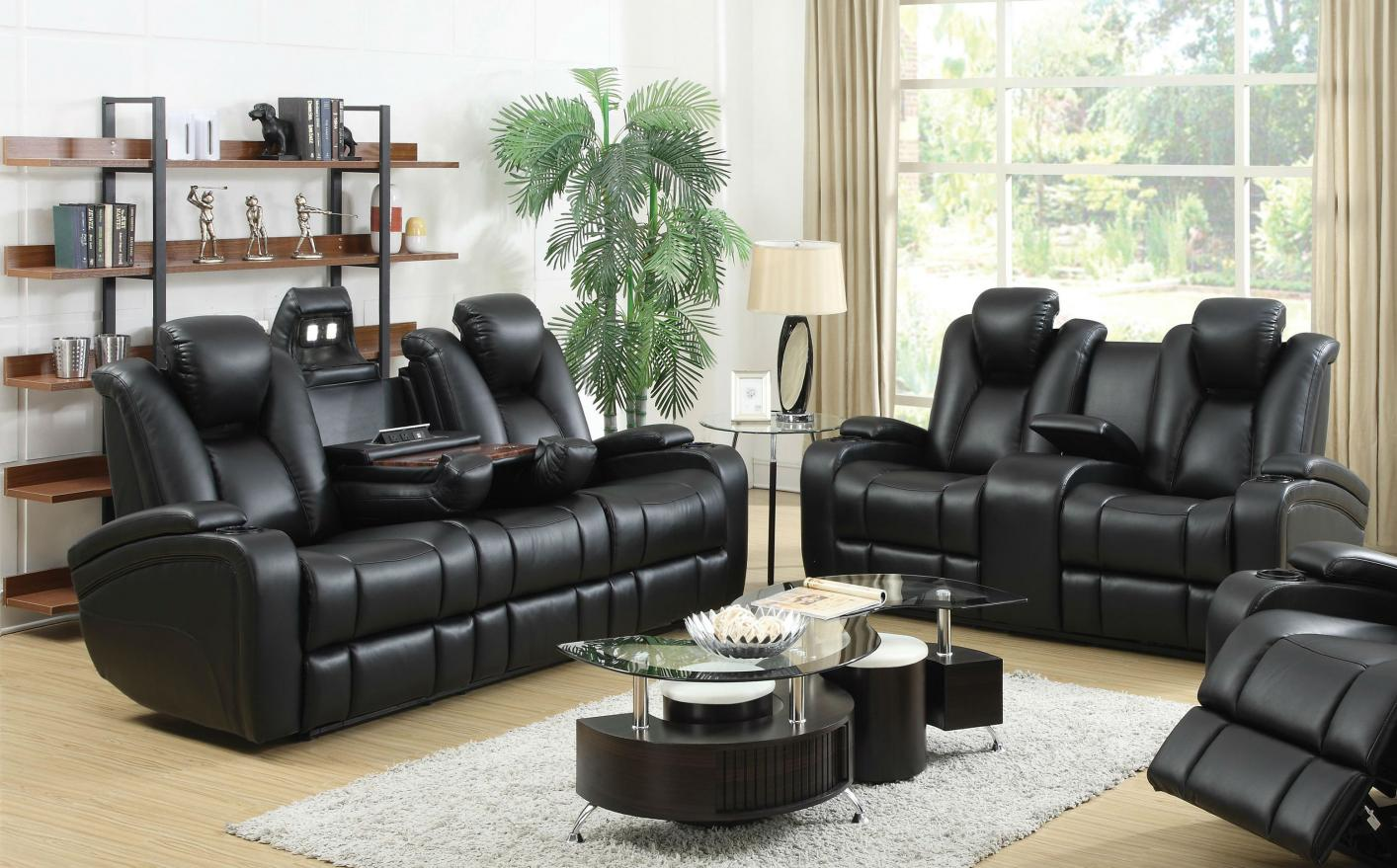 Black Leather Power Reclining Sofa And Loveseat Set Steal A & Leather Reclining Sofa Loveseat Sets | Aecagra.org islam-shia.org