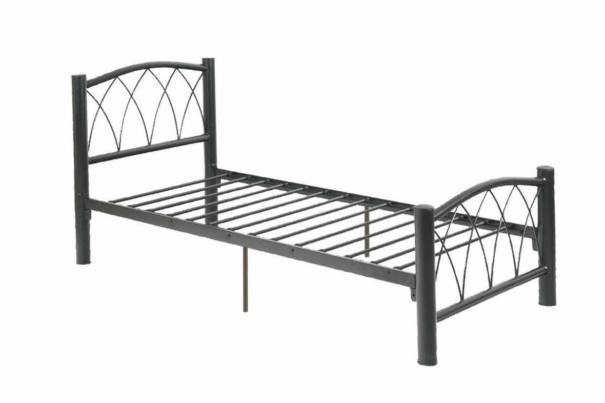 Black Metal Twin Size Bed