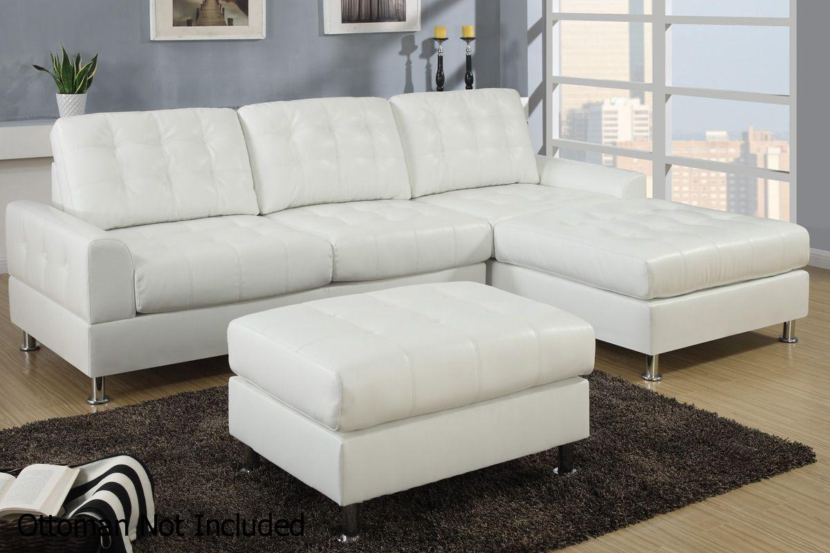 White Metal Sectional Sofa Steal A Sofa Furniture Outlet