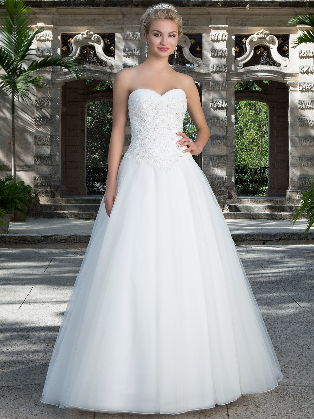 Sincerity Sweetheart Tulle Ball Gown Bridal Dress