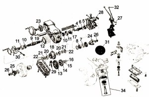 Willys MB, Ford GPW Dana Spicer 18 Transfer Case Parts