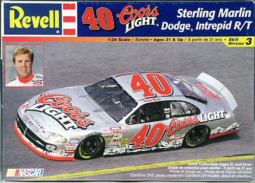 "Revell/Monogram Sterling Marlin #40 ""Coors Light"" 2002"