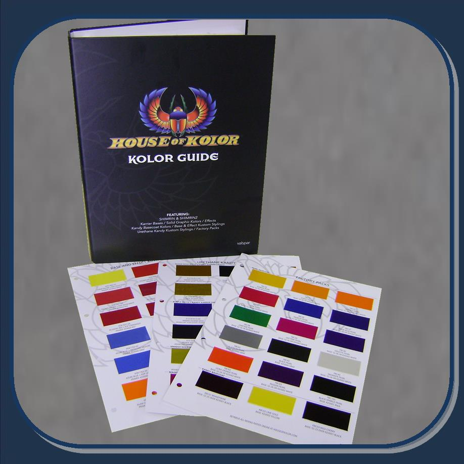 House Of Kolor Color Chart Ibovnathandedecker